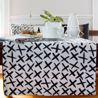 x design table runner