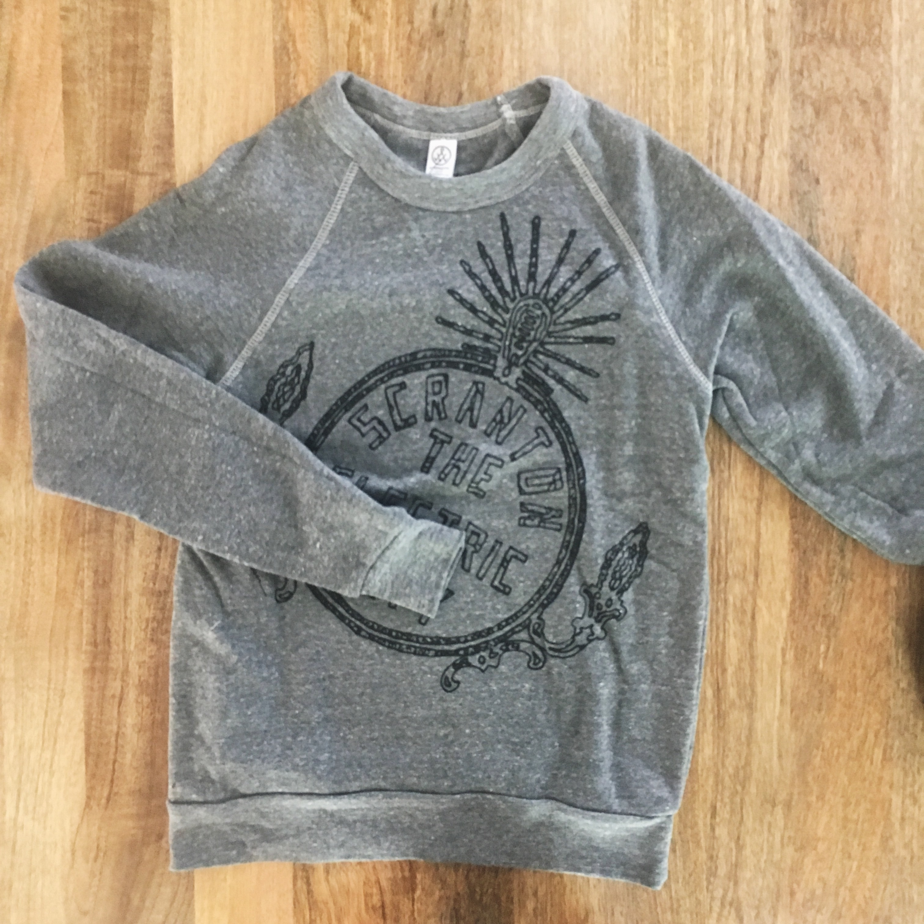 Electric City Grey Sweater Pullover