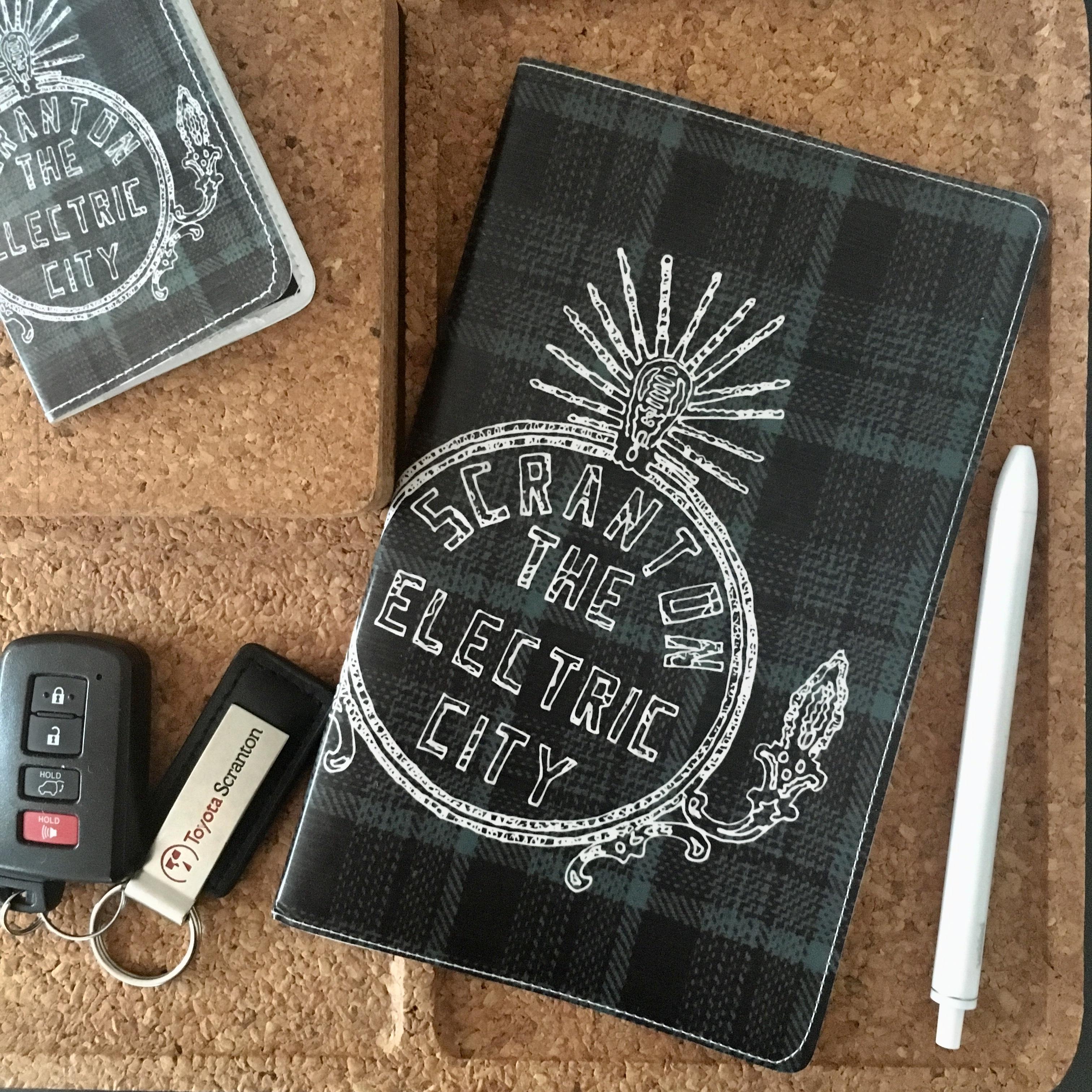 Electric City Moleskine Notebook
