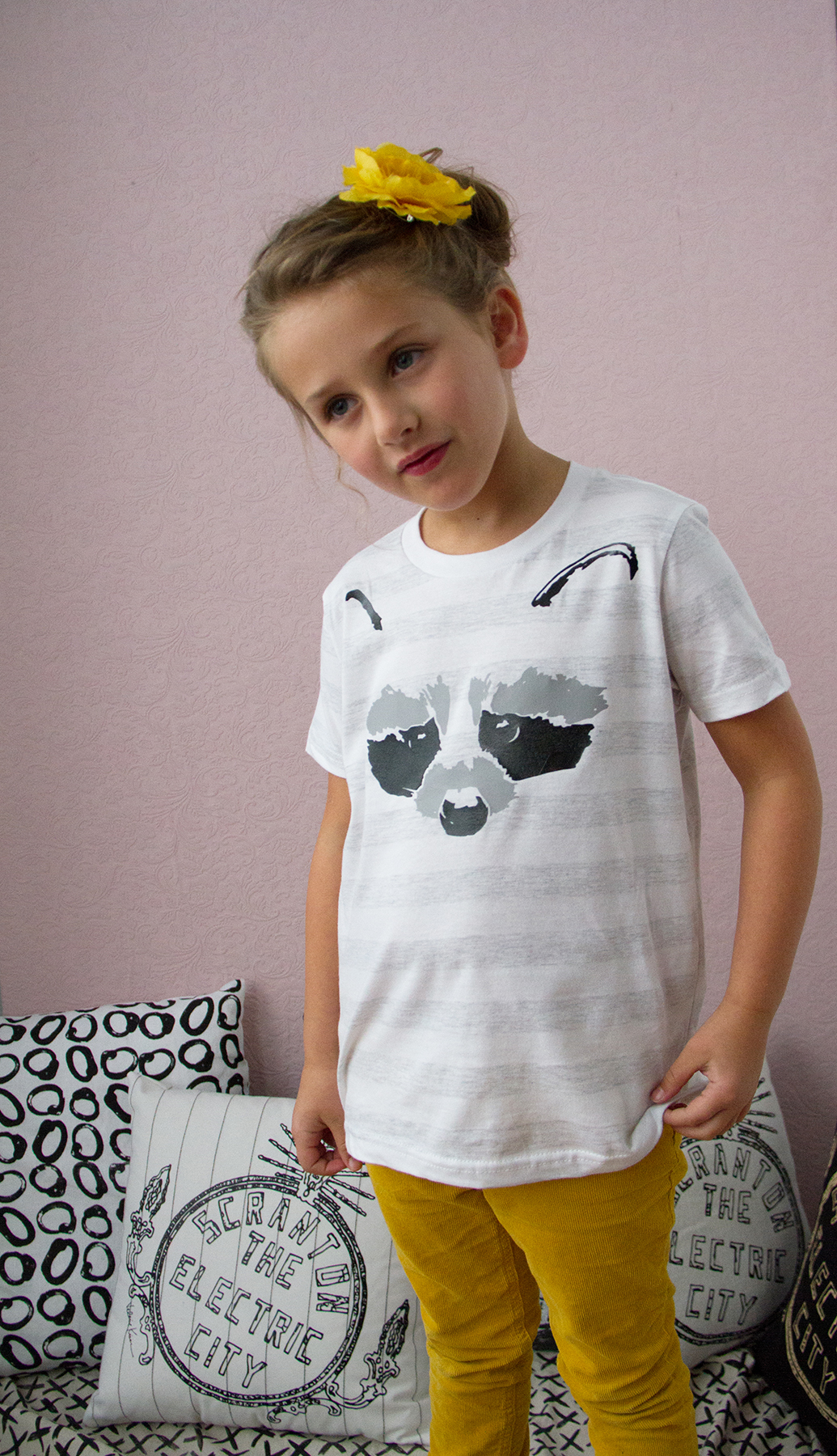 Youth's Raccoon Tshirt